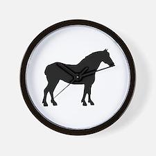Draft Horse Wall Clock
