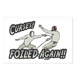 Curses Foiled Again Postcards (Package of 8)