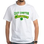 East Compton Clovers White T-Shirt