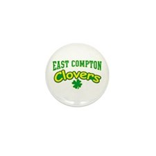East Compton Clovers Mini Button (100 pack)
