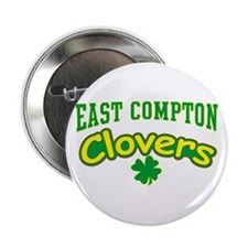 """East Compton Clovers 2.25"""" Button"""