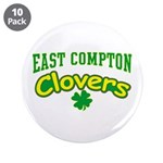 "East Compton Clovers 3.5"" Button (10 pack)"