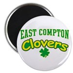 "East Compton Clovers 2.25"" Magnet (10 pack)"