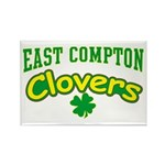 East Compton Clovers Rectangle Magnet