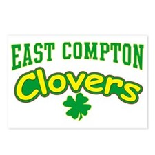 East Compton Clovers Postcards (Package of 8)