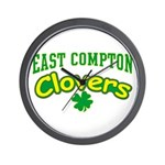 East Compton Clovers Wall Clock