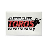 Rancho Carne Toros Rectangle Magnet