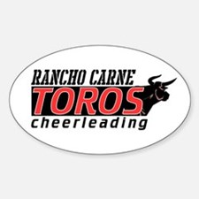 Rancho Carne Toros Oval Decal