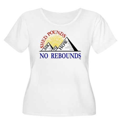 Shed Pounds, No Rebounds Women's Plus Size Scoop N