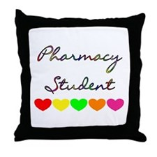 Unique Pharmacy student Throw Pillow