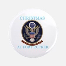 """christmas at fort rucker 3.5"""" Button (100 pack)"""