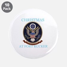 """christmas at fort rucker 3.5"""" Button (10 pack)"""