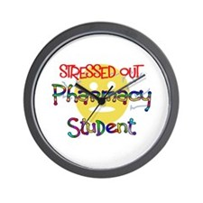 Unique Pharmacy student Wall Clock