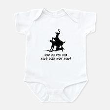 Deer Meat Now? Infant Bodysuit