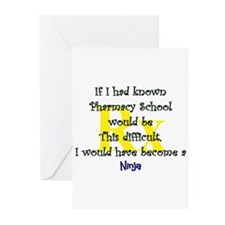 Cute Pharmacy student Greeting Cards (Pk of 20)