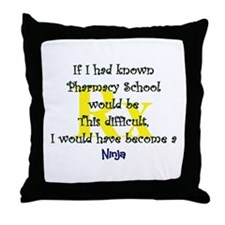 Cute Pharmacy Throw Pillow