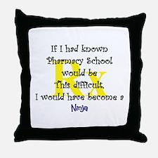 Unique Pharmacy student Throw Pillow