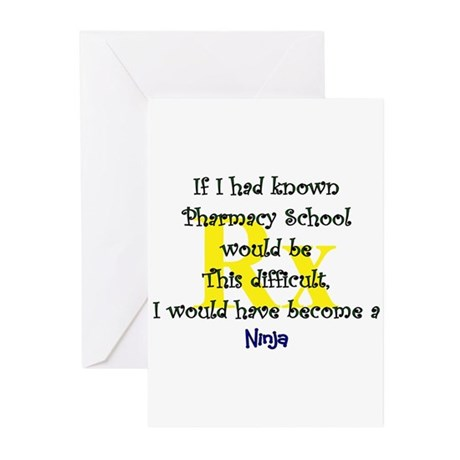 if I had known pharmacy school Greeting Cards