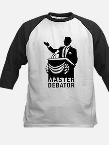 Master Debator Kids Baseball Jersey