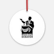 Master Debator Ornament (Round)