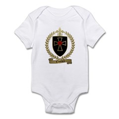 COUTURE Family Crest Infant Creeper
