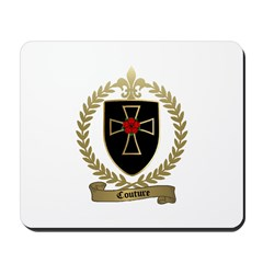 COUTURE Family Crest Mousepad