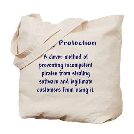 Copy Protection Tote Bag