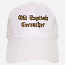 Old English Geocacher Baseball Baseball Cap