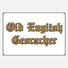 Old English Geocacher Banner