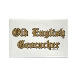 Old English Geocacher Rectangle Magnet (10 pack)