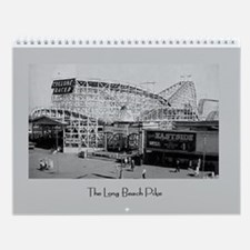 "Long Beach Pike 11"" Wall Calendar"