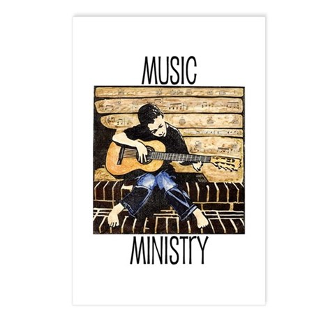 Music Ministry Postcards (Package of 8)