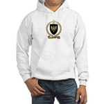 DAIGLE Family Crest Hooded Sweatshirt