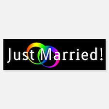 Gay Marriage Bumper Bumper Bumper Sticker