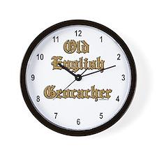 Old English Wall Clock