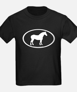 Draft Horse Oval T