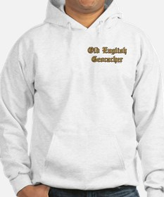 Old English Pocket Area Hoodie
