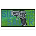 SIG SAUER 9MM PISTOL Large Poster