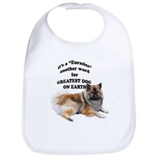 Eurasier dog Bib