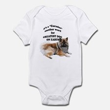 Eurasier dog Infant Bodysuit