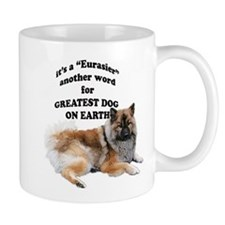 Eurasier dog Small Mug