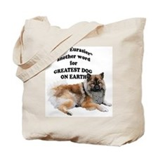 Eurasier dog Tote Bag