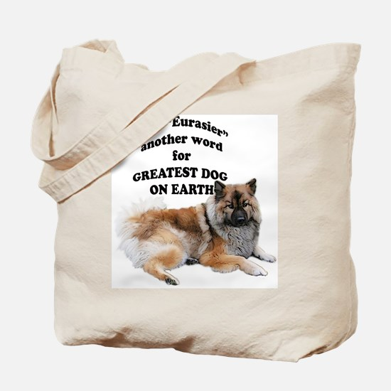 Eurasier dog Tote Bag