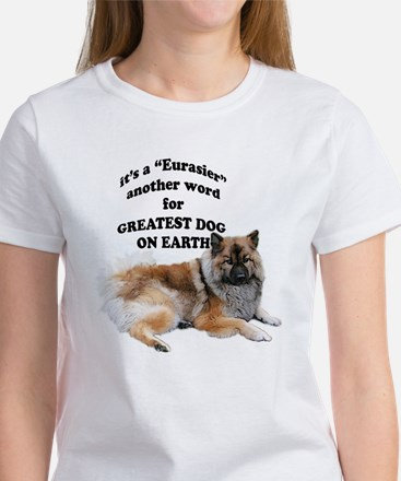Eurasier dog Women's T-Shirt
