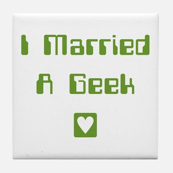 Married Tile Coaster