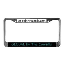 Global License Plate Frame