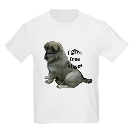 Eurasier puppy kisses Kids Light T-Shirt