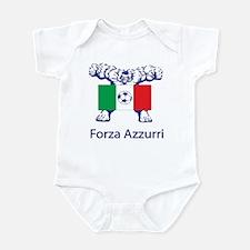 "Whooligan Italy ""Forza Azzurri"" Infant Bodysuit"