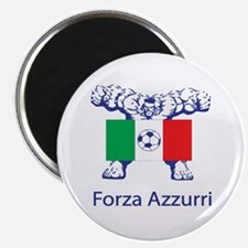 """Whooligan Italy """"Forza Azzurri"""" Magnet"""