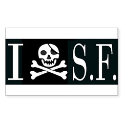 I Hate Frisco Rectangle Sticker 50 pk)